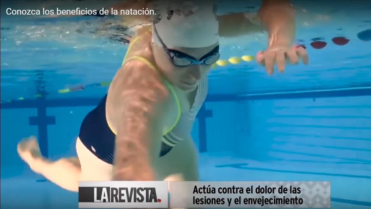Beneficios de la natación, Néstor Villamil
