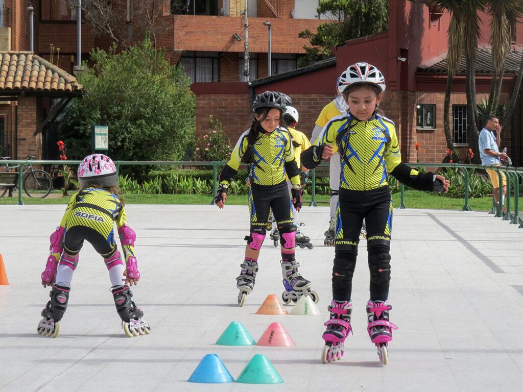 Escuela de patinaje Bogotá